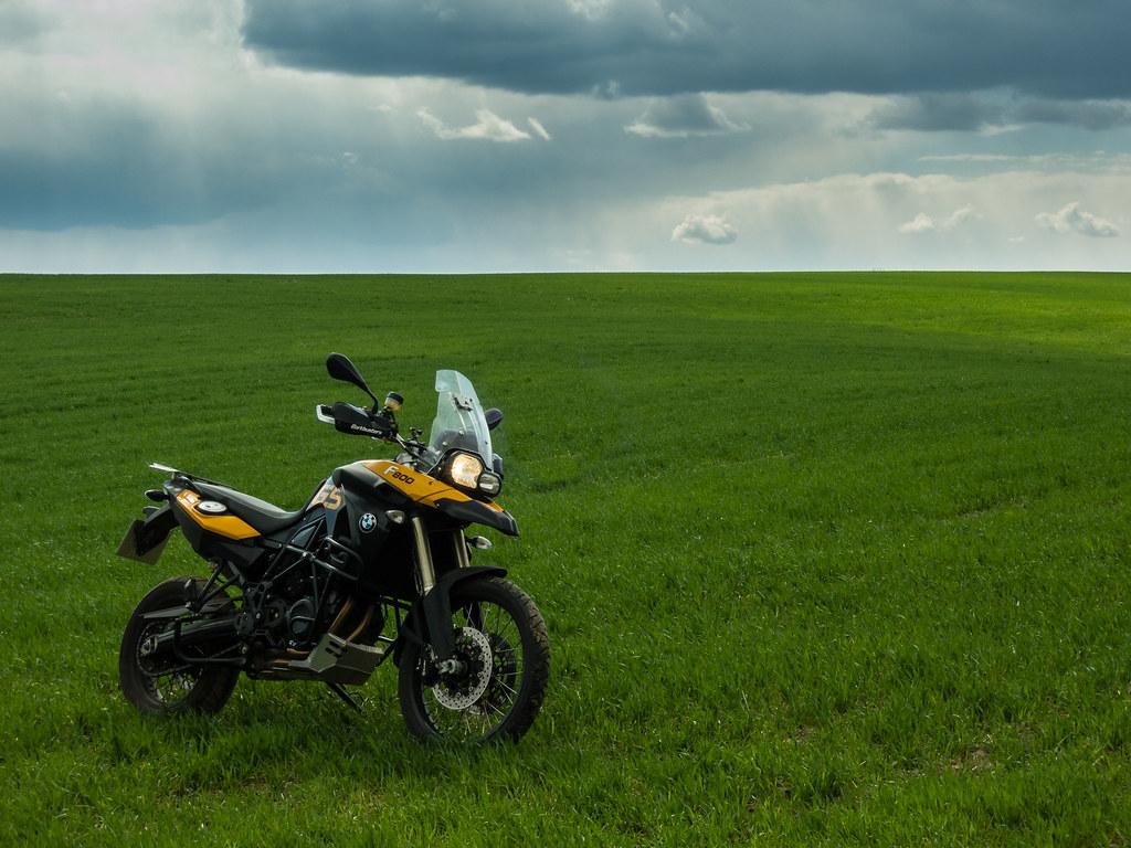 Landscape & BMW F800GS
