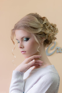 My first commercial photoshoot for a beauty salon