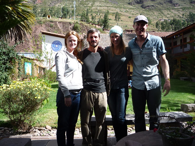 At the hotel in Pisac
