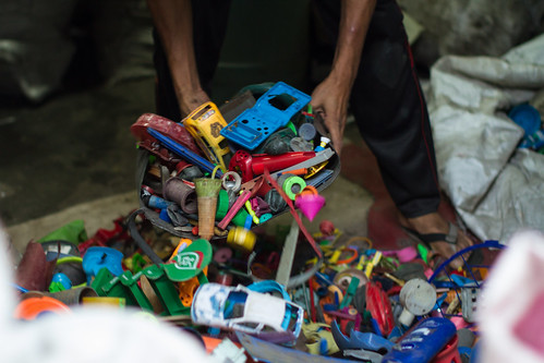 Recycling Plastic Toys
