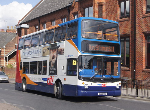 Stagecoach East 18342 AE55 DKF