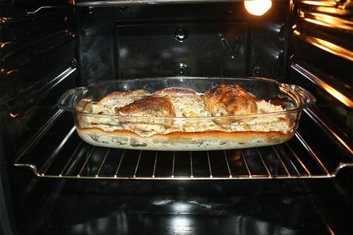 26 - Weiter im Ofen backen / Continue to bake in oven