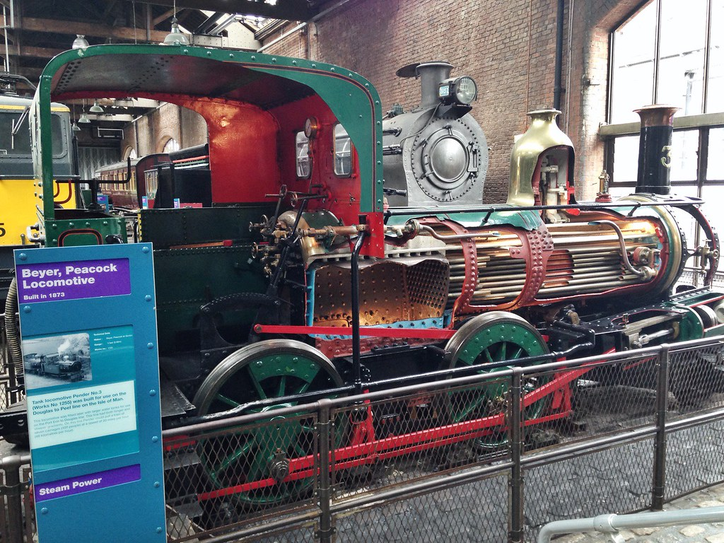 steam engines at MOSI Manchester
