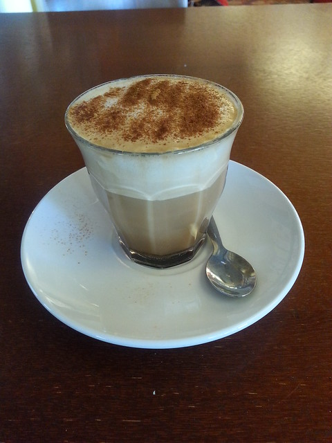 Turkish apple cappucino