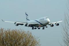 El Al Israel Airlines /  Boeing 747-412 / 4X-ELB