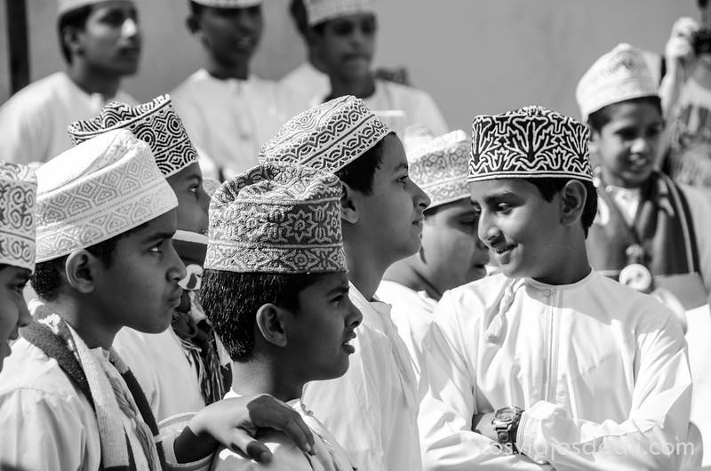 Omán en blanco y negro