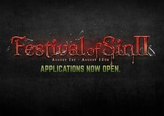 Festival of Sin II - Designer Applications Are Open!