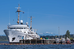 NOAA Ship on Lake Washington