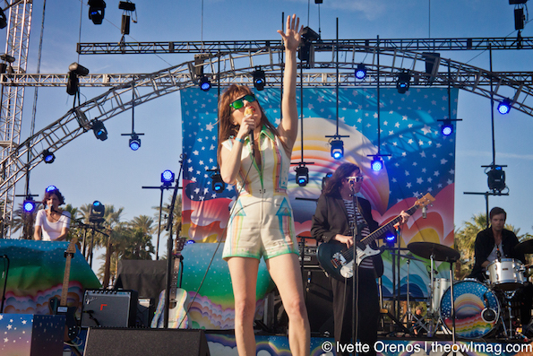 Jenny Lewis @ Coachella 2015 Weekend 2 - Sunday