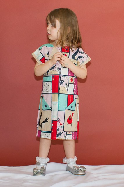 London dress pattern by modkid