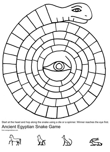 Egyptian Snake Game