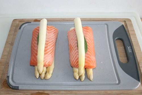 25 - Spargel & Lachs kombinieren / Combine salmon & asparagus