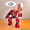 #LEGO #Hulkbuster #Armor #HulkbusterArmor #IronMan #IceCreamCone #IceCream #Cone #MK43 #Avengers #AgeOfUltron #AoU #Marvel #LEGOmarvel @lego_group @lego @Marvel @Disney @bricknetwork @brickcentral