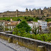 Carcassona des del riu / Carcassonne seen from the river by SBA73