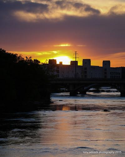 sunset virginia unitedstates danville riverwalktrail danriver danvilleva danvillephotoclub