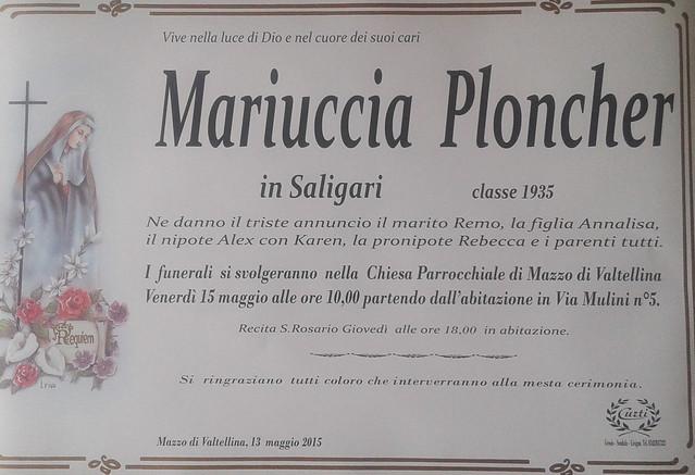 Ploncher Mariuccia