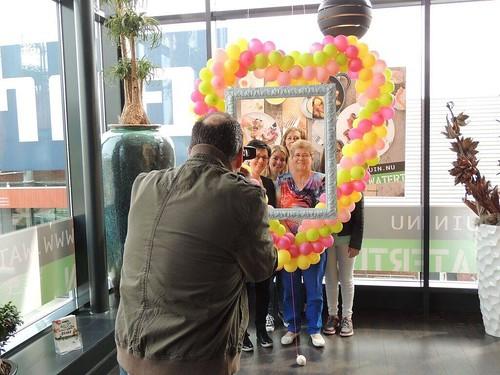 Ballonnenhart Fotolijst Moederdag Restaurant De Watertuin Spijkenisse