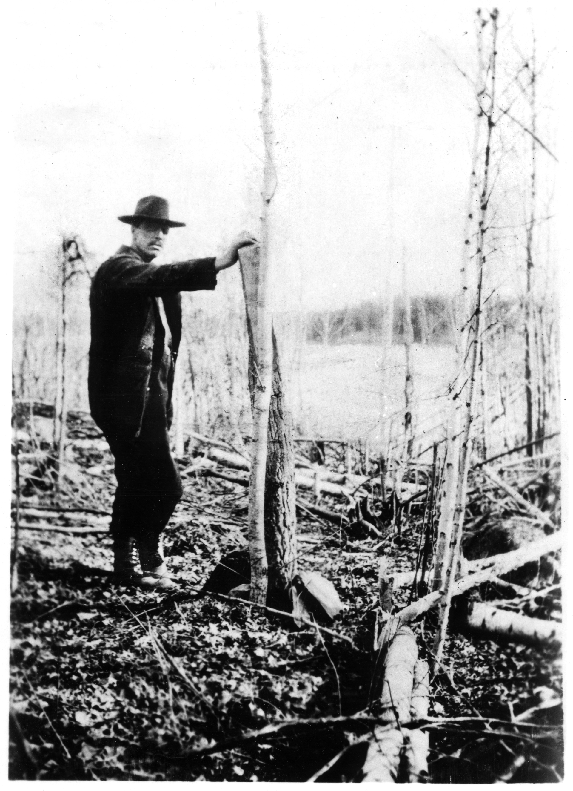 Hudbay minerals built from the rock a rare photo of tom creighton posing with his claim post upon the first discovery of ore in flin flon 1916 photo courtesy of frank fieber buycottarizona Choice Image