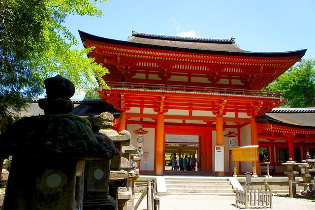 南門/春日大社(Kasuga-Taisha Shrine / Nara City) 2015/05/21