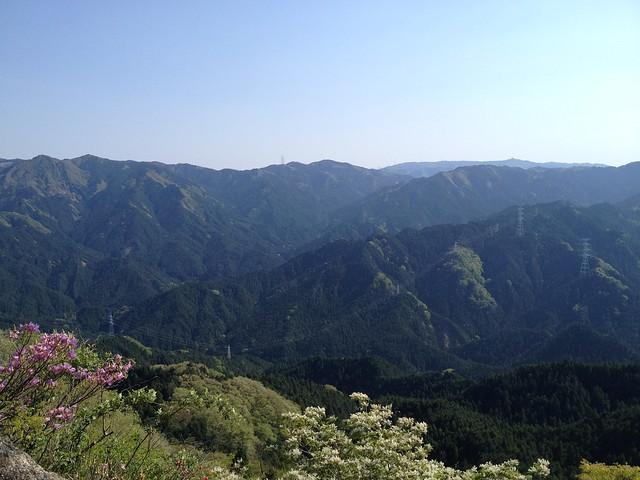 錫杖ヶ岳 加太コース 岩場からの眺望