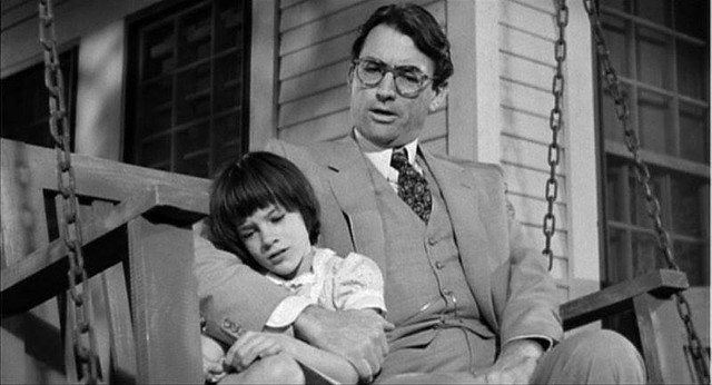 Atticus Finch gives advice to Scout