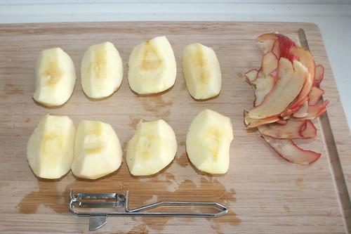 14 - Äpfel schälen / Peel apple
