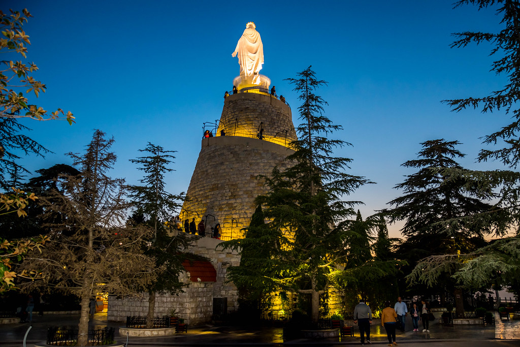 Our Lady Of Lebanon Harissa, Lebanon | My interview on ...