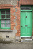 Front door and window, Kilkenny