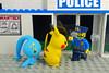 Pokemon Go! No! No! NOT Inside the Police Station