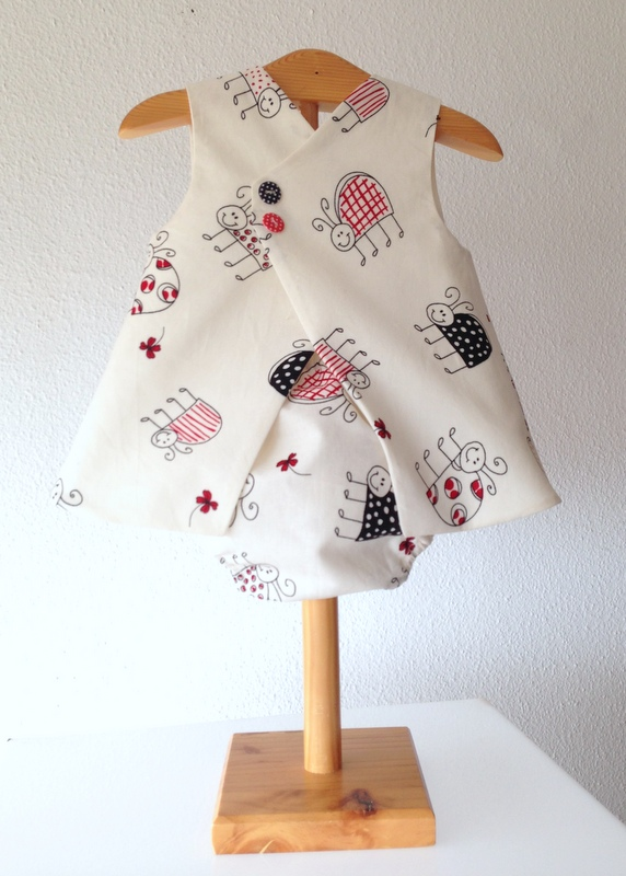 ladybird dress back