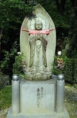 Buddhist statue, Kyomizu-dera (Buddhist Temple), Kyoto, Japan, July 2014