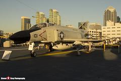 153030 NE-101 - 1557 - US Navy - McDonnell QF-4N Phantom II - USS Midway Museum San Diego, California - 141223 - Steven Gray - IMG_6798