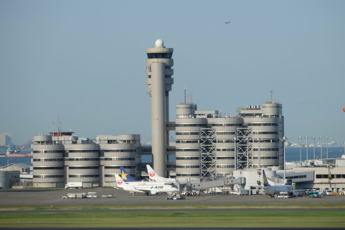 Haneda Tokyo International Airport 19 aviation tower