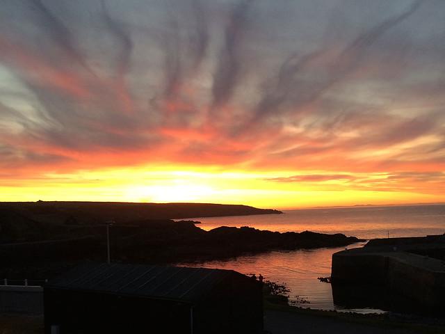 Portsoy sunset