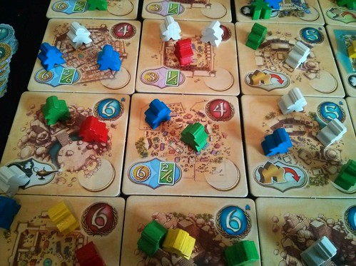 049 Five Tribes Gameplay 14