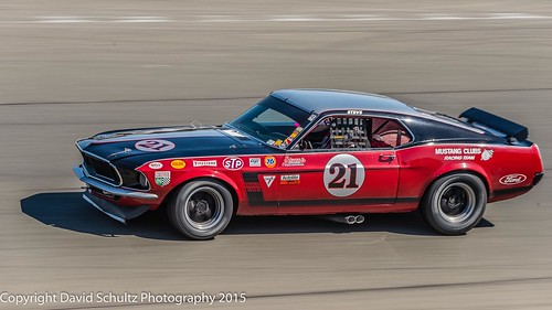 Group 8 #21 1969 Ford Boss302