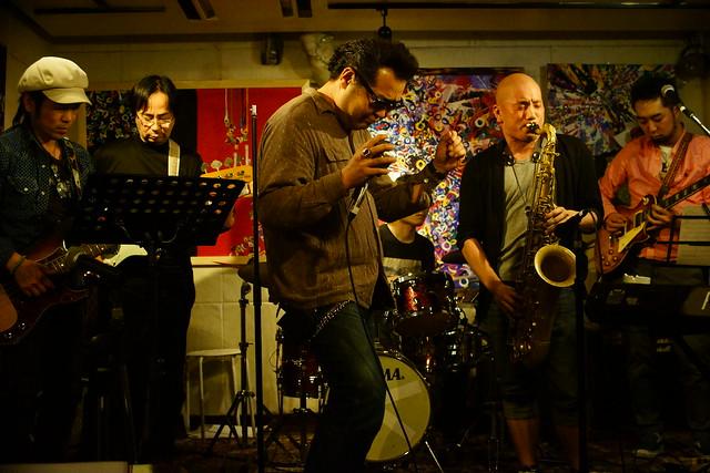 CLASSIC ROCK JAM at Cafe KICK, Tokyo, 23 Apr 2015. 277