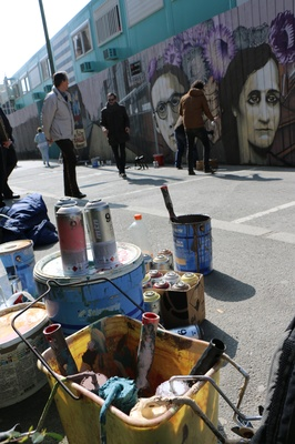 Peinture et bombes