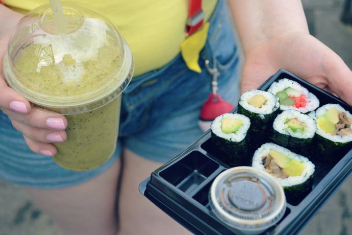 Jushi vegan sushi dundee