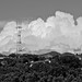 clouds, Sutro Tower  (Space Claw,) San Francisco by David McSpadden