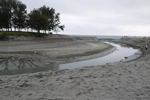 濕地被開挖之河道