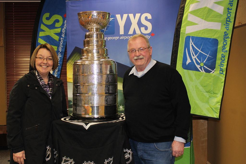 Stanley Cup Arrives in PG