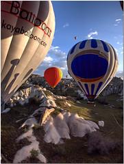 Ballooning in Cappodocia