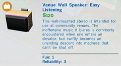 Venue Wall Speaker Easy
