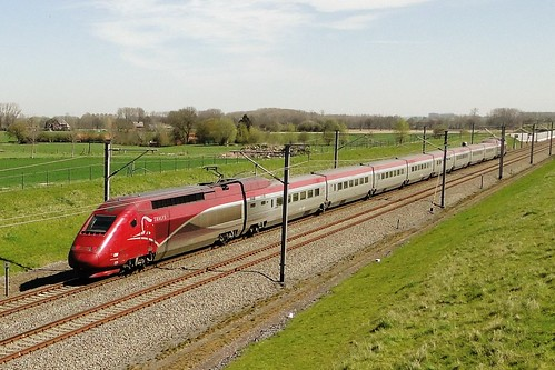 Belgian High Speed - Thalys PBKA in the direction of Brussels.