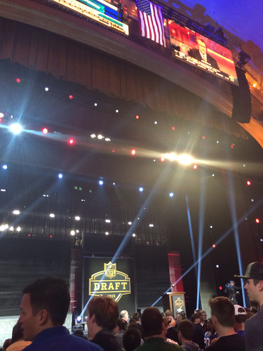 Auditorium Theater NFL Draft Chicago