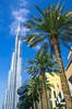 Burj Khalifa from Dubai Mall. Downtown, Dubai. February 7, 2015. 11am.
