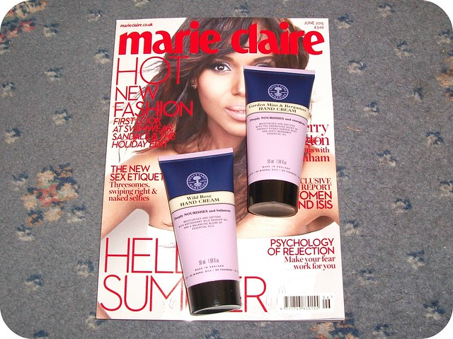Magazine Freebies June 2015 Marie Claire Neal's Yard Hand Cream