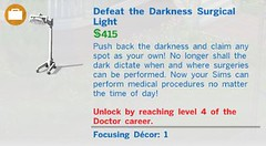Defeat the Darkness Surgical Light