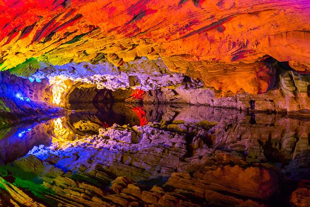 Qiliang Cave Reflections - China